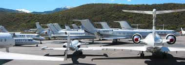 Summer at the Aspen Airport