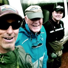 Two Great Soldier's I had the pleasure to take Fly Fishing.